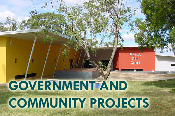 Government and Community Projects - Mackay Builders - John Foster Projects