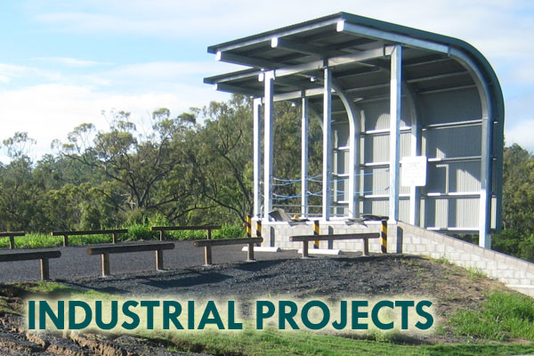 Industrial Projects - Mackay Builders - John Foster Projects