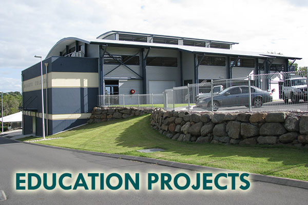 Education Projects - Mackay Builders - John Foster Projects